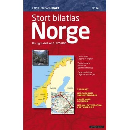 Stort bilatlas Norge (CK 14)