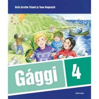 Gággi 4 - oahppogirji