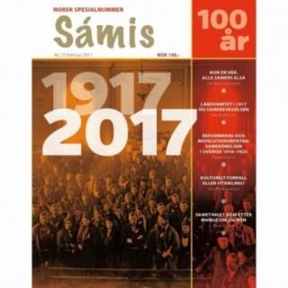 Sámis - spesialnummer på norsk til Tråante 2017